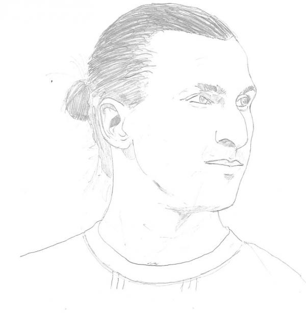 Zlatan Ibrahimovic by franckmersey